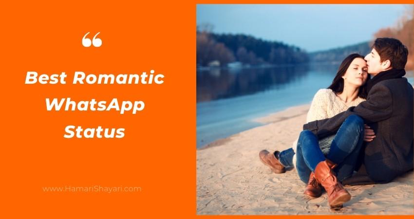 20+ Best Romantic WhatsApp Status Quotes